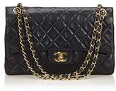 Chanel Pre-owned: Classic Medium Leather Double Flap Bag.