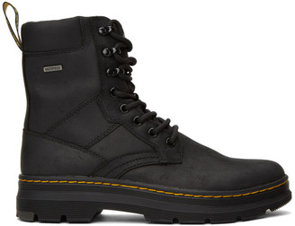 Dr. Martens Black Waterproof Iowa Boots