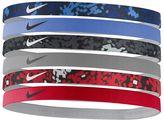 Nike 6-pk. Solid & Abstract Pixels Headband Set