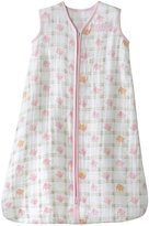 Halo 100% Cotton Muslin SleepSack Wearable Blanket - Pink Elephant - Small