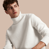 Burberry Funnel Neck Wool Sweater