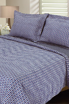 Melange Home Ron Chereskin Basketweave Reversible Quilt Set - Blue