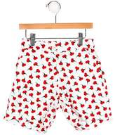 Oscar de la Renta Girls' Carnation Print Shorts w/ Tags
