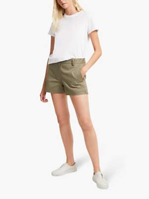 French Connection Ismena High Waisted Shorts