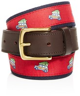 Vineyard Vines Woody & Tree Canvas Club Belt