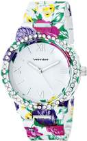 Vernier Women's VNR11168D Rhinestone-Accented Watch