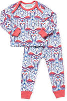 BedHead Flamingo Tee & Pants Set - White, Size 3-6m