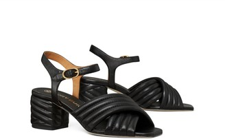 Tory Burch Kira Quilted Heeled Sandal