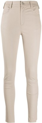 Drome High-Waisted Skinny Trousers