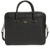Kate Spade Saffiano Leather 13 Inch Laptop Bag - Black