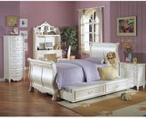 Acme Pearl Collection Twin Sleigh Bed