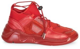 Balmain Josh Low-Top Sock Sneakers