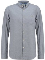 Knowledge Cotton Apparel Slim Fit Shirt Light Grey