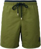 Vilebrequin contrast trim swim shorts