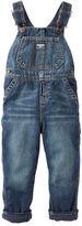 Osh Kosh Fleece-Lined Denim Overalls