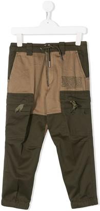 Diesel tonal cargo trousers