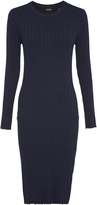 Oxford Lanie Knit Dress Blu X