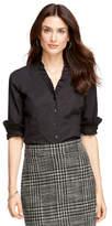 Brooks Brothers Non-Iron Ruffle Collar Dress Shirt