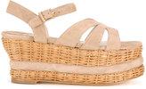Paloma Barceló platform sandals - women - Suede - 38
