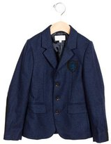 Gucci Boys' Suede-Paneled Wool Blazer