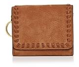 Rebecca Minkoff Vanity Mini Suede Wallet