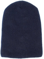 The Elder Statesman cashmere ribbed beanie - unisex - Cashmere - One Size