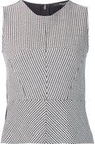 Derek Lam sleeveless patterned top