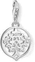 "Thomas Sabo Unisex ""Tree of Life"" 925 Sterling Silver Zirconia Charm Pendant 1391-051-14"