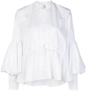 Rosie Assoulin Lantern Sleeve Blouse