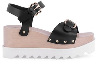 Stella McCartney Elyse Platform Wedge Sandals