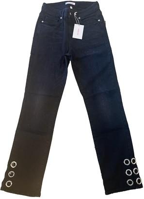 Good American Black Cotton - elasthane Jeans for Women