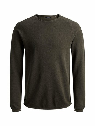 Jack and Jones Men's Jjehill Knit Crew Neck Noos Jumper