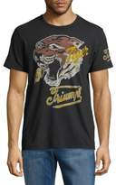 Lucky Brand Tiger Cotton Tee