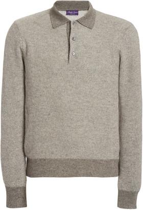 Ralph Lauren Purple Label Cashmere Polo Shirt