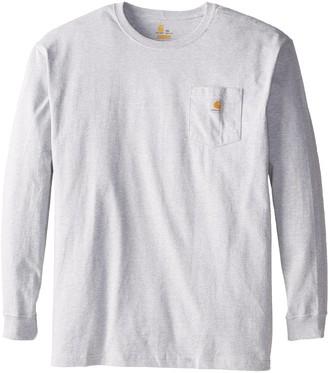 Carhartt Men's Big & Tall Workwear Pocket LS T Shirt