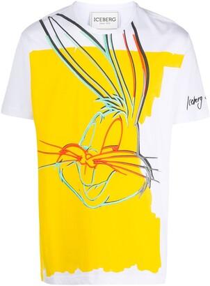 Iceberg embroidered Bugs Bunny T-shirt