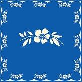 Kom Amsterdam Flower Napkins, Blue