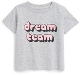 Kid Dangerous Dream Team Graphic Tee (Baby Girls)