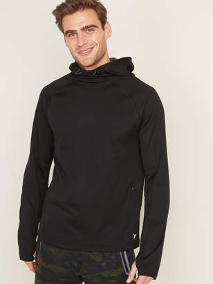 Old Navy Go-Warm Thermal-Knit Pullover Hoodie for Men