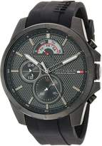 Tommy Hilfiger Men's 'COOL SPORT' Quartz Resin and Silicone Casual Watch, Color: (Model: 1791352)