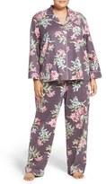Carole Hochman Plus Size Women's Flannel Pajamas