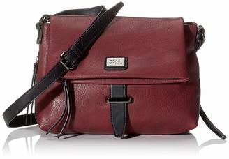 Xti 86138 Womens Messenger Bag Black (Negro) 25x20x7 centimeters (W x H x L)