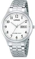 Lorus RXN01DX9-Women's Quartz Analogue Watch-Silver Stainless Steel Strap
