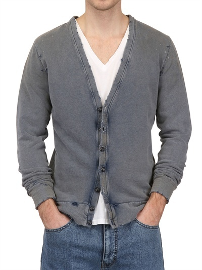 Cycle Destroyed Cotton Washed Cardigan