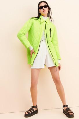 AVEC LES FILLES Glow Daze Quilted Jacket