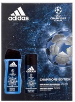 adidas UEFA Ltd No.3 Body Spray & Shower Gel