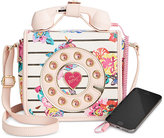 Betsey Johnson Mini Phone Crossbody