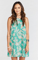 MUMU Gomez Mini Dress ~ Jadely Paisley