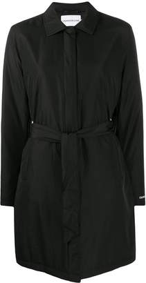 Calvin Klein Jeans single-breasted trench coat
