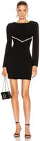 HANEY Audrey Dress in Black | FWRD